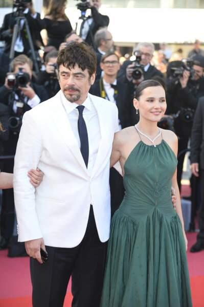 Benicio Del Toro et Virginie Ledoyen à la clôture du Festival de Cannes