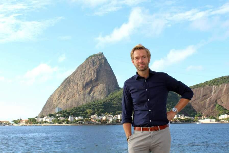 Et voici Alexandre Delpérier à Rio....