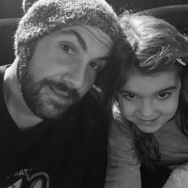 Pause cinéma pour Laurent Ournac et sa fille Capucine.