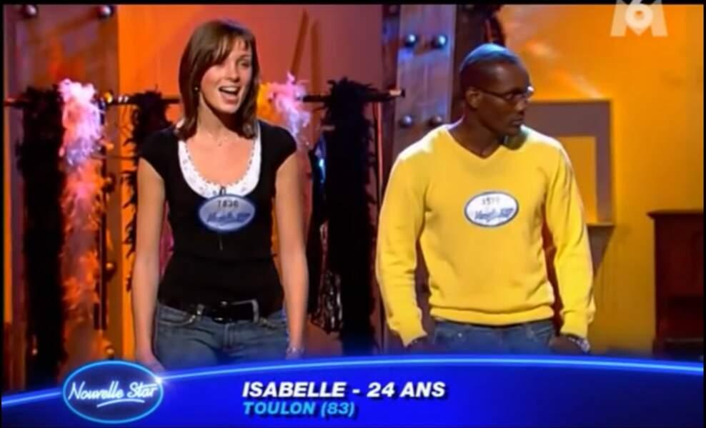 Mais il y a 8 ans, c'est au casting de Nouvelle star qu'elle faisait ses premiers pas en télé