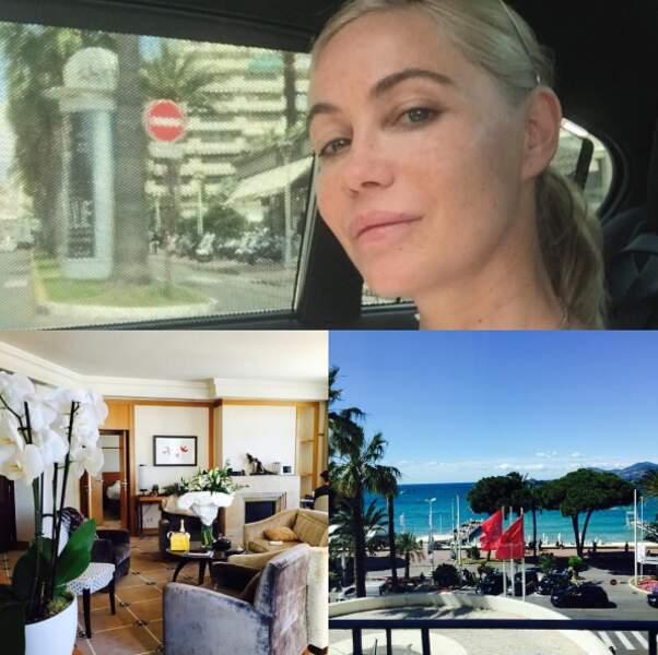 Emmanuelle Béart arrive à Cannes !