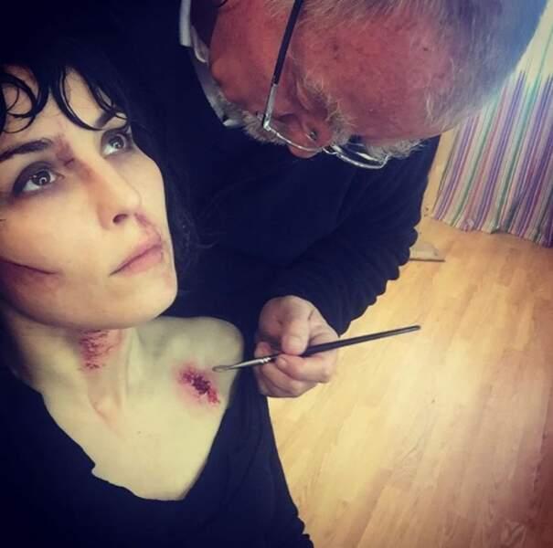 Sur Instagram, Noomi Rapace partage aussi des photos des coulisses de ses tournages