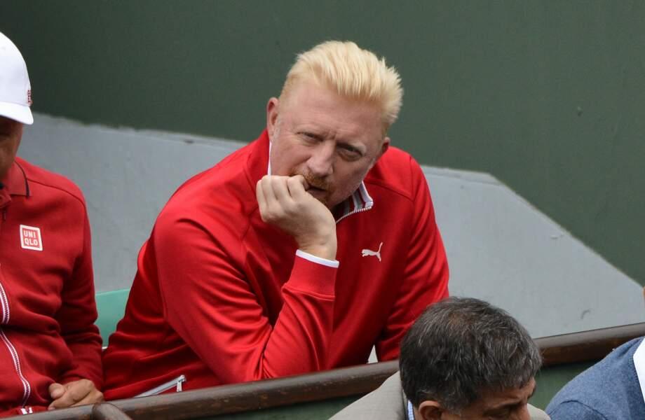 Boris Becker anxieux pour son poulain Novak Djokovic