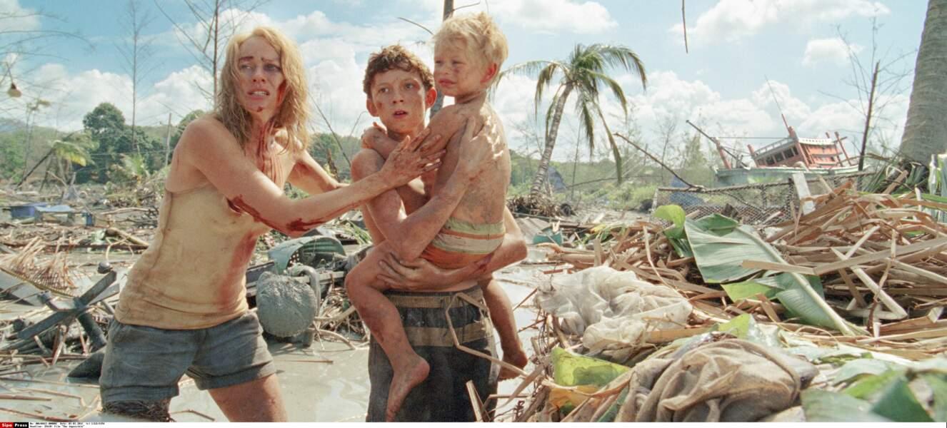 Le récit d'une famille prise dans l'une des plus terribles catastrophes naturelles, un tsunami en Thaïlande en 2004