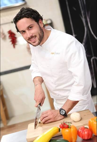 Florian Chatelard, 28 ans, Lyon, a fait son apprentissage chez Paul Bocuse