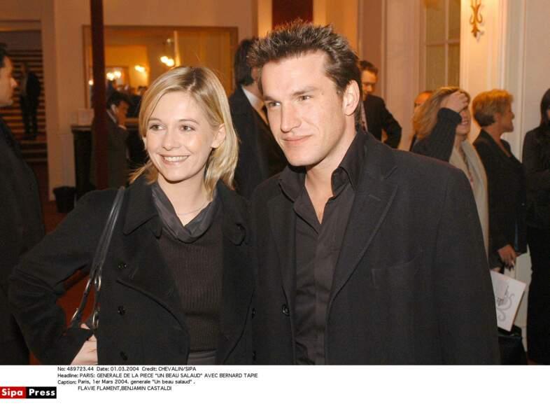 Flavie Flament et Benjamin Castaldi se sont rencontrés en 2000 sur le plateau des P'tits Princes sur TF1