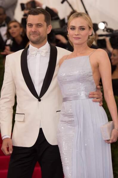 Les acteurs Diane Kruger et Joshua Jackson, en couple depuis 2006.