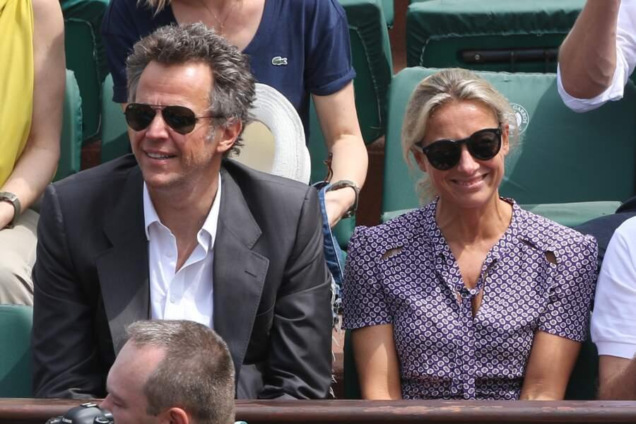 Sinon, on vu Anne-Sophie Lapix et son mari Arthur Sadoun