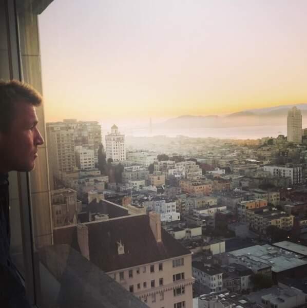 En tout cas, on adore la vue de Benjamin Castaldi à San Francisco.