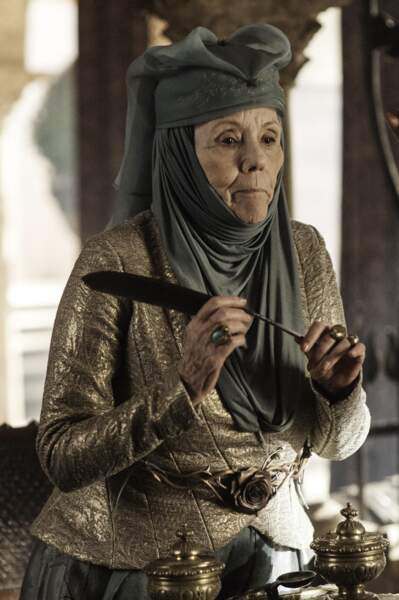 Diana Rigg (Lady Olenna Tyrell)