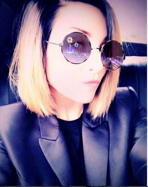 Priscilla Betti sur la route des vacances