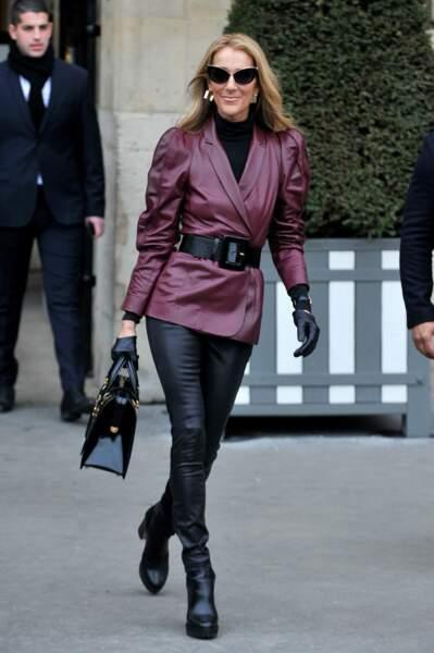Place au cuir, en route pour le show Givenchy !