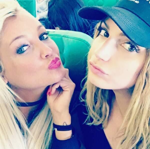 Aurélie Dotremont et Nadège Lacroix sont parties en vacances ensemble.