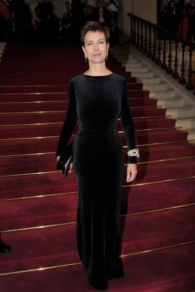 Carole Bouquet, venue remettre le trophée du Meilleur espoir féminin