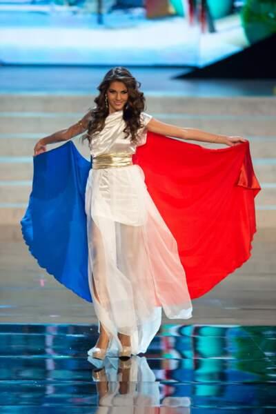 Marie Payet a dignement représenté les couleurs du drapeau français