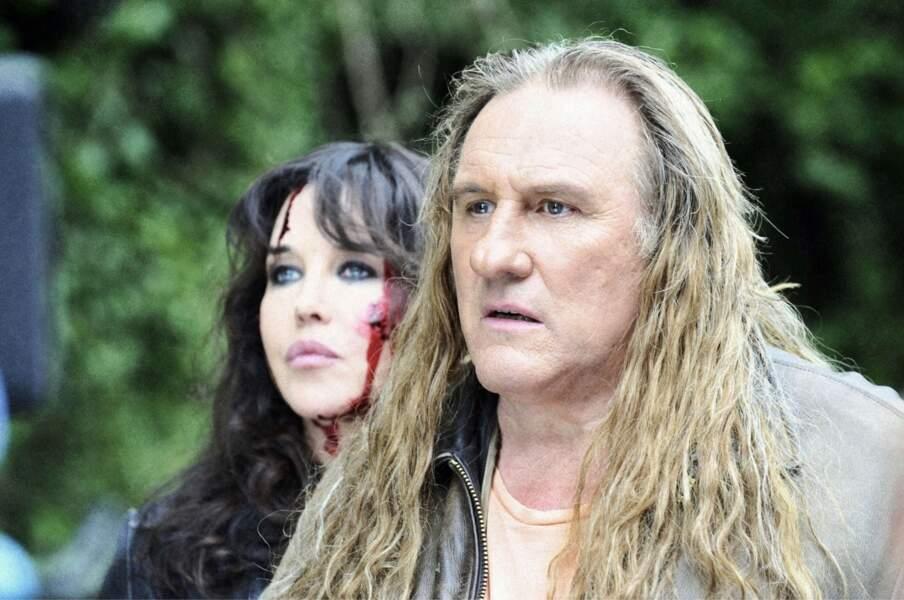 Elle rejoue avec Gérard Depardieu dans Mammuth (2010).