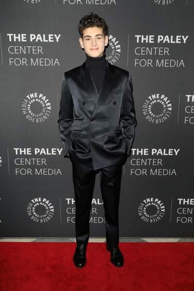 Mais à la ville, David Mazouz, l'acteur qui joue le futur Batman, semble beaucoup plus apaisé