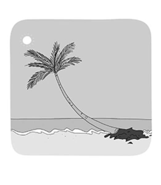 Pourquoi les palmiers penchent-ils au bord de l'eau ?