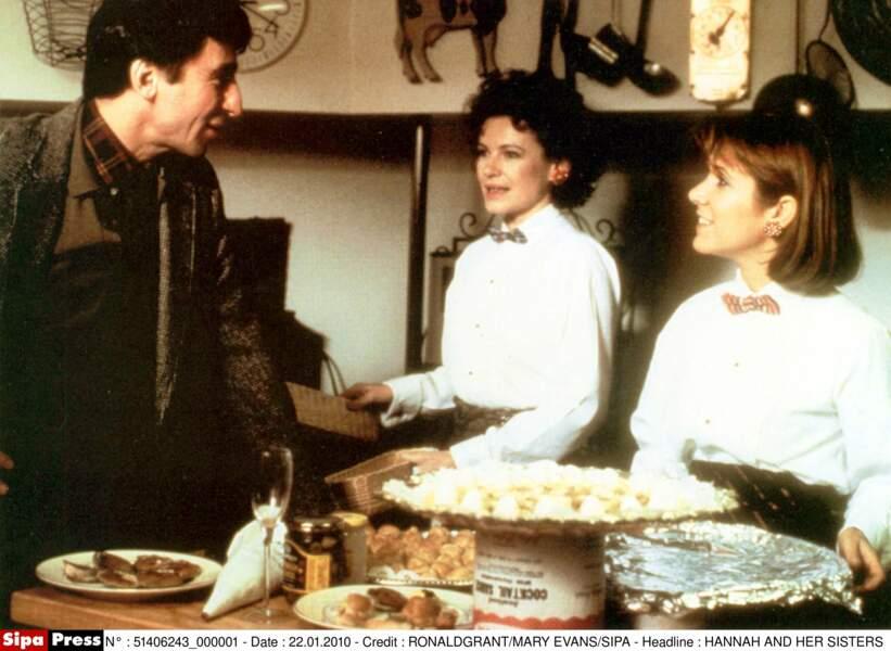 À l'affiche de Hannah et ses soeurs de Woody Allen (1986)