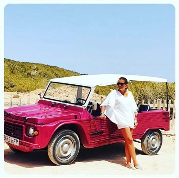 En vacances, Valérie Bénaïm se croit dans Top Gear !