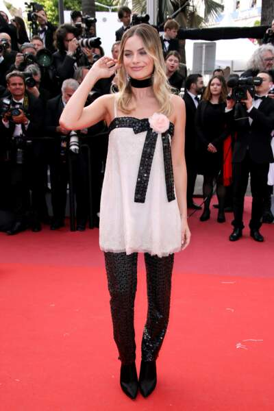 Margot Robbie, rayonnante pour présenter ce film