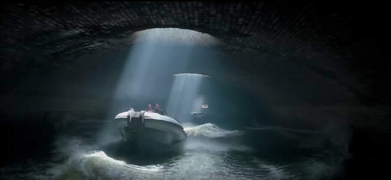 Le canal Saint-Martin a une partie souterraine peu connue, sous le boulevard Richard-Lenoir (XIème arr.)