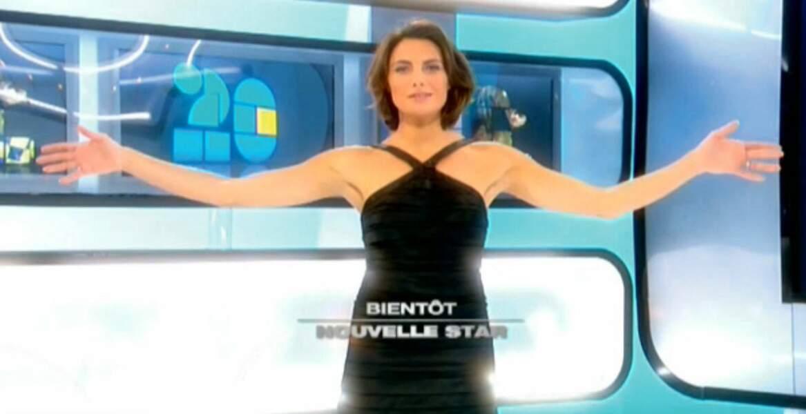 Présentatrice de Nouvelle Star 2 sur M6 (2007)