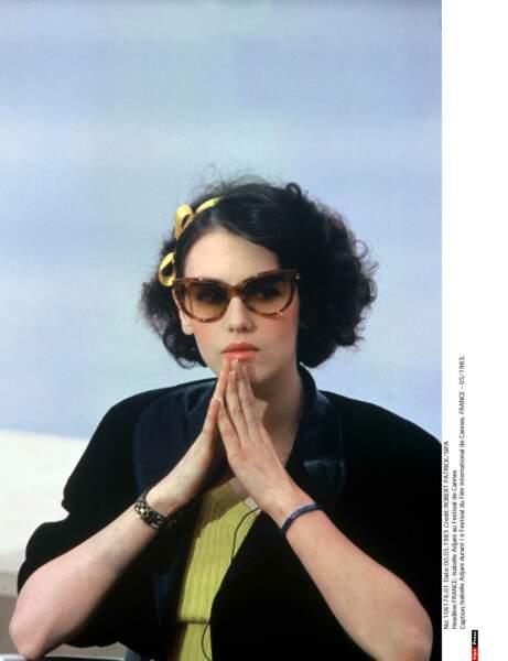 Au Festival de Cannes en 1983