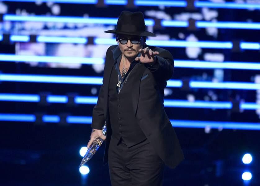 Johnny Depp a hypnotisé le Jury pour avoir un prix