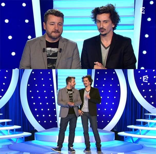 And the winner is : le duo Tsamère-Guillon, complèmentaire jusque dans la gestuelle ! Chapeau bas !