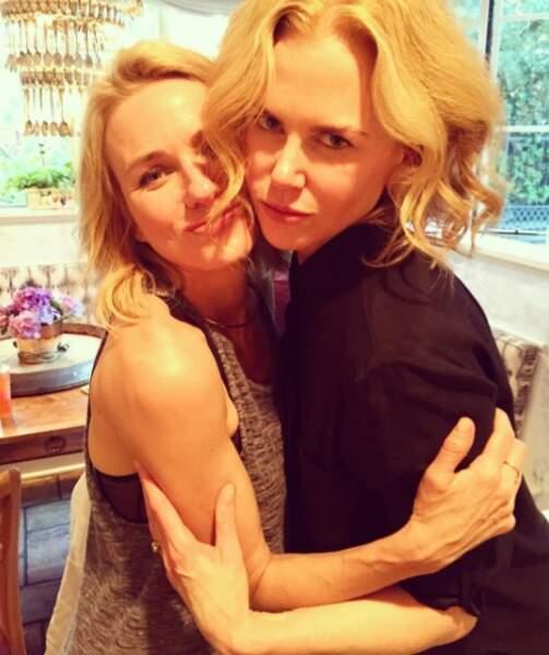 Mais sa grande copine n'est autre que : Nicole Kidman !