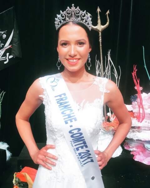 Mathilde Klinguer (21 ans) élue Miss Franche-Comté