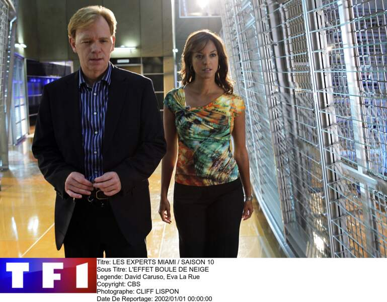 Voici Horatio Caine (David Caruso) et Natalia BoaVista (Eva La Rue)