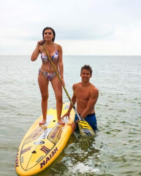 Ils partagent une passion commune : le paddle