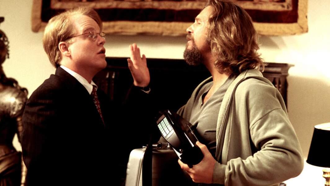 Philip Seymour Hoffman et Jeff Bridges dans The Big Leboswki (1998)