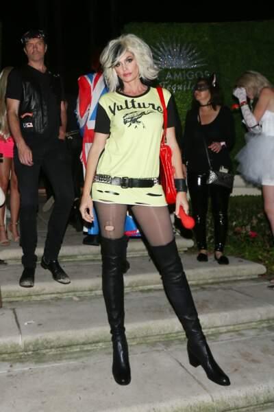 L'ex mannequin Cindy Crawford