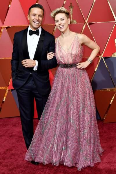 Scarlett Johansson, chargée de remettre l'Oscar de la meilleure chanson