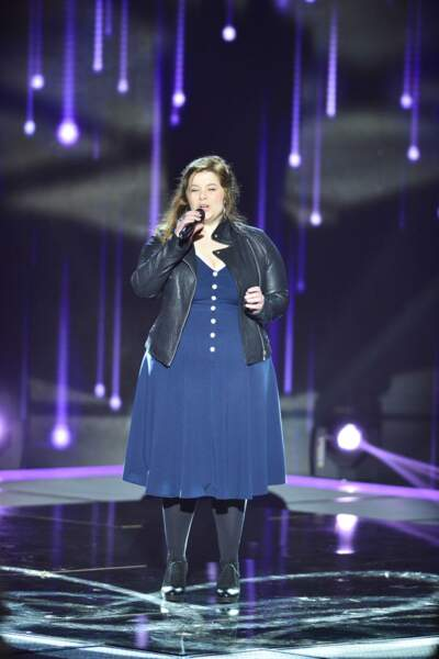 Mariana Tootsie, 34 ans, talent de l'équipe de Florent Pagny
