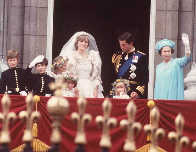 En juillet 1981, c'est le mariage du siècle pour Charles et Diana