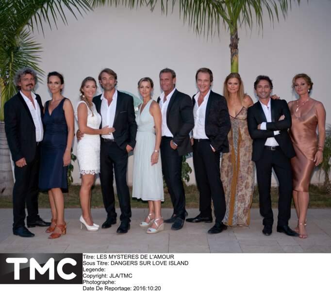 Fin 2016, la bande célèbre...le mariage d'Hélène et Nicolas !