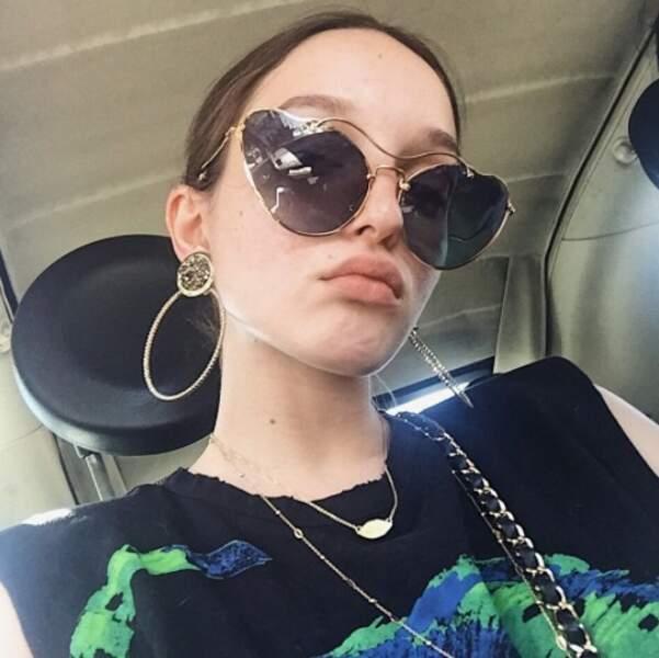 C'est nous ou Emma Wren, la fille de Stéphane Rotenberg, a un petit air de Lily-Rose Depp ?