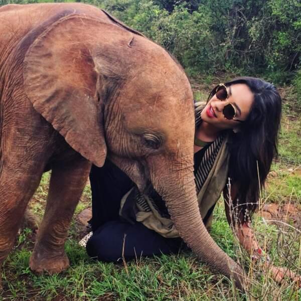 Toi aussi tu rêves du Kenya ? Cette photo de Shay Mitchell devrait te faire encore plus envie.