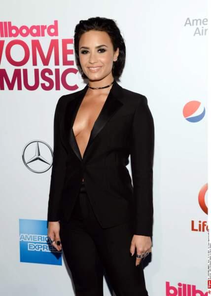Demi Lovato n'a toujours pas retrouvé son soutien-gorge