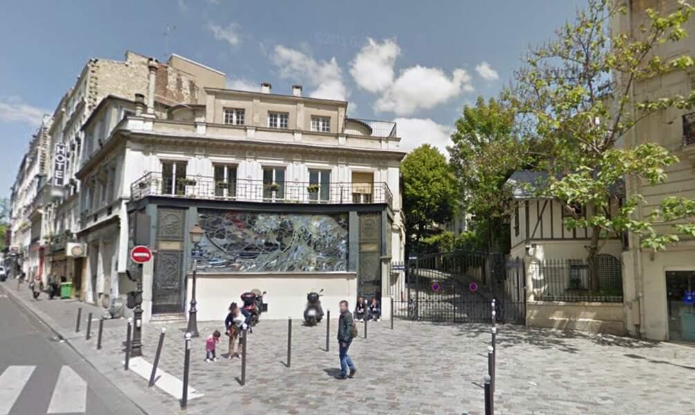 La maison du 1, avenue Frochot, Paris