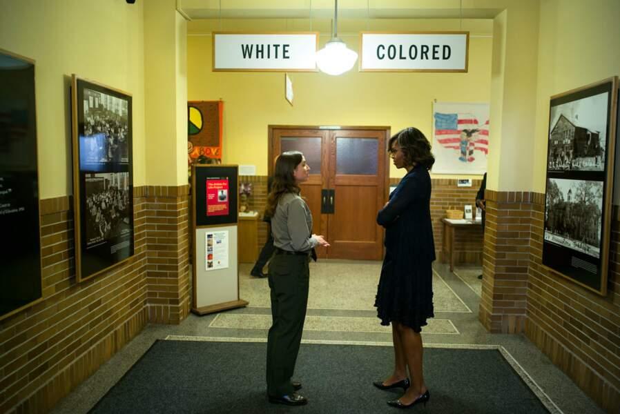 La lutte contre les discriminations raciales a toujours été le fer de lance du couple Obama