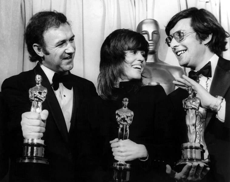 Jane Fonda a reçu l'Oscar de la meilleure actrice pour Klute en 1972