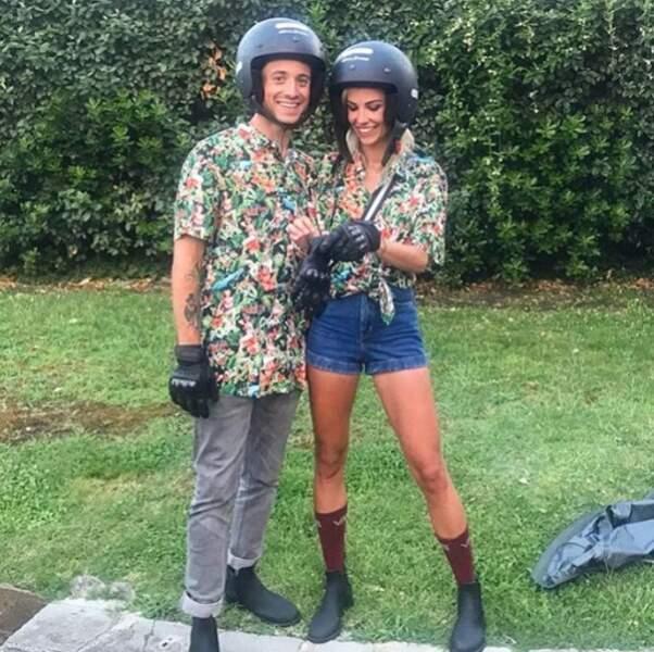 Et Hugo Clément et Alexandra Rosenfeld ont trouvé des tenues assorties.