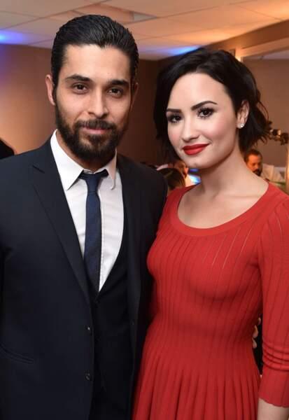 La chanteuse Demi Lovato et l'acteur Wilmer Valderrama, en couple depuis 2010.