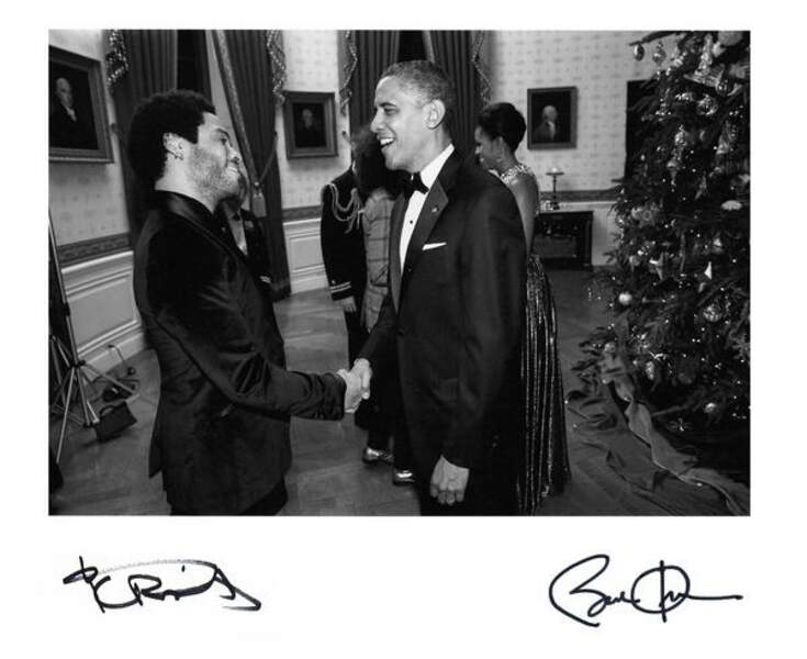 Lenny Kravitz + Barack Obama = la classe !