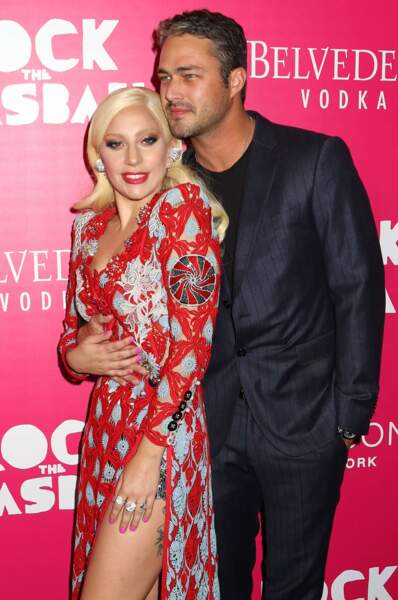 La chanteuse Lady Gaga et Taylor Kinney, en couple depuis 2011.